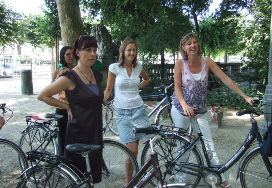 Faites un balade à vélo