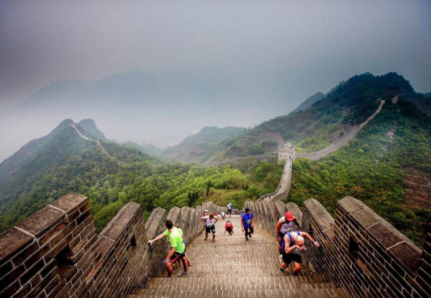 2 – Le marathon de la Grande Muraille de Chine