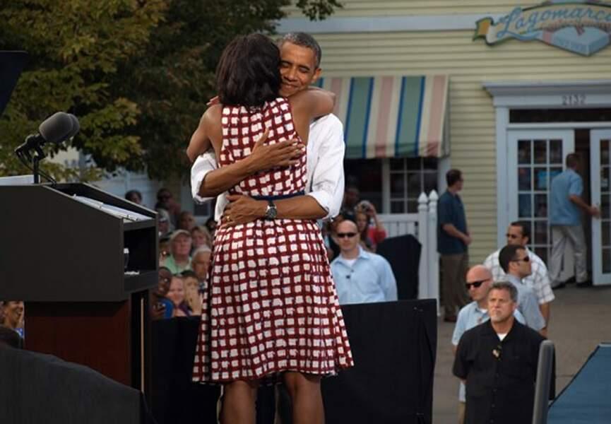 Barack et Michelle Obama, si ce n'est pas de l'amour...
