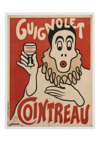 Affiche publicitaire pour le Guignolet, 1898