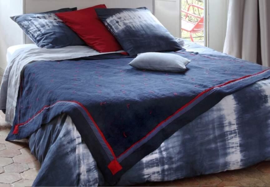 une parure de lit tie & dye