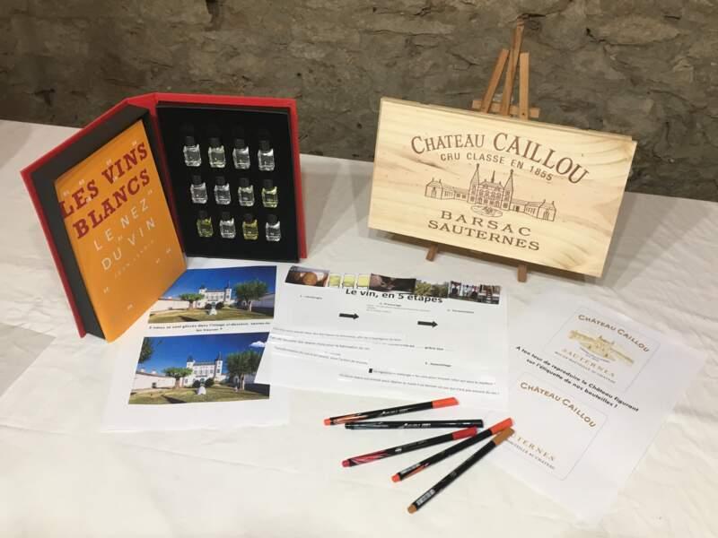 Visite spéciale enfants au Château Caillou