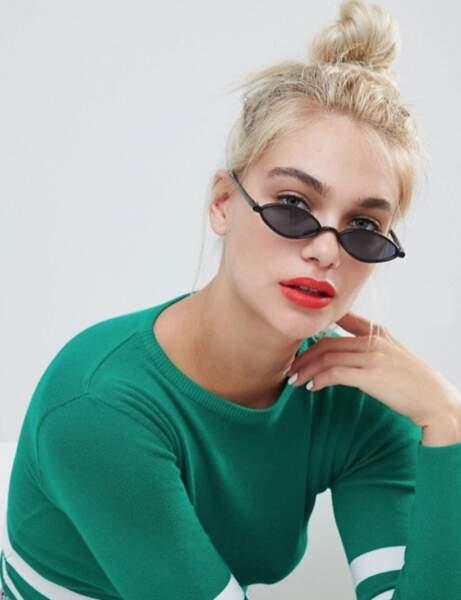 Tendance 2019 : lunettes de soleil ovales