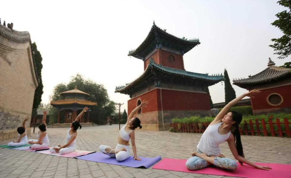 Yoga Day : les postures sont appelées âsana