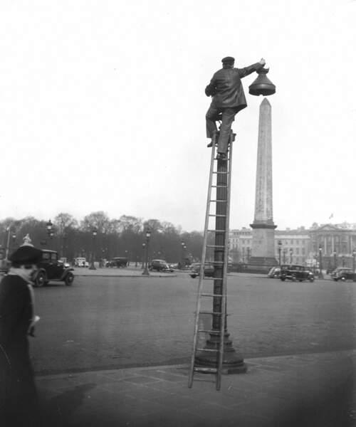 Place de la Concorde, février 1939.