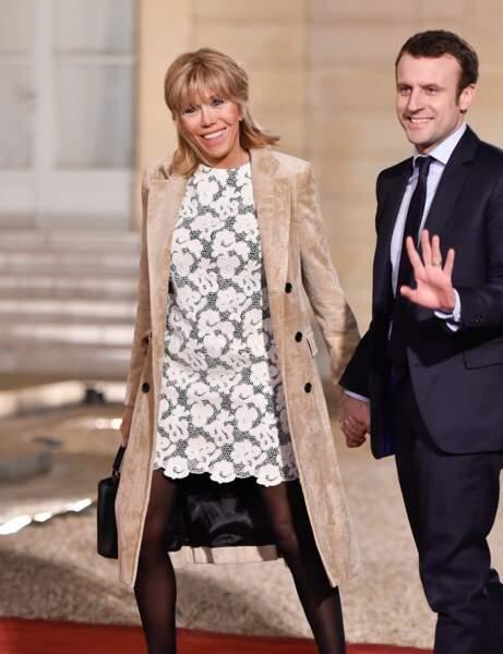 Brigitte Macron : le look ultra chic