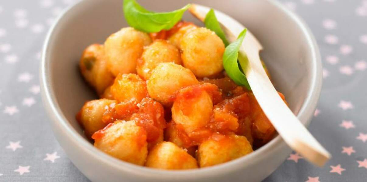 Gnocchis à la tomate