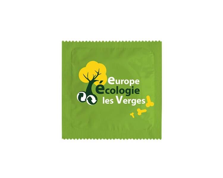Préservatif spécial Présidentielle : Europe Écologie Les Verges