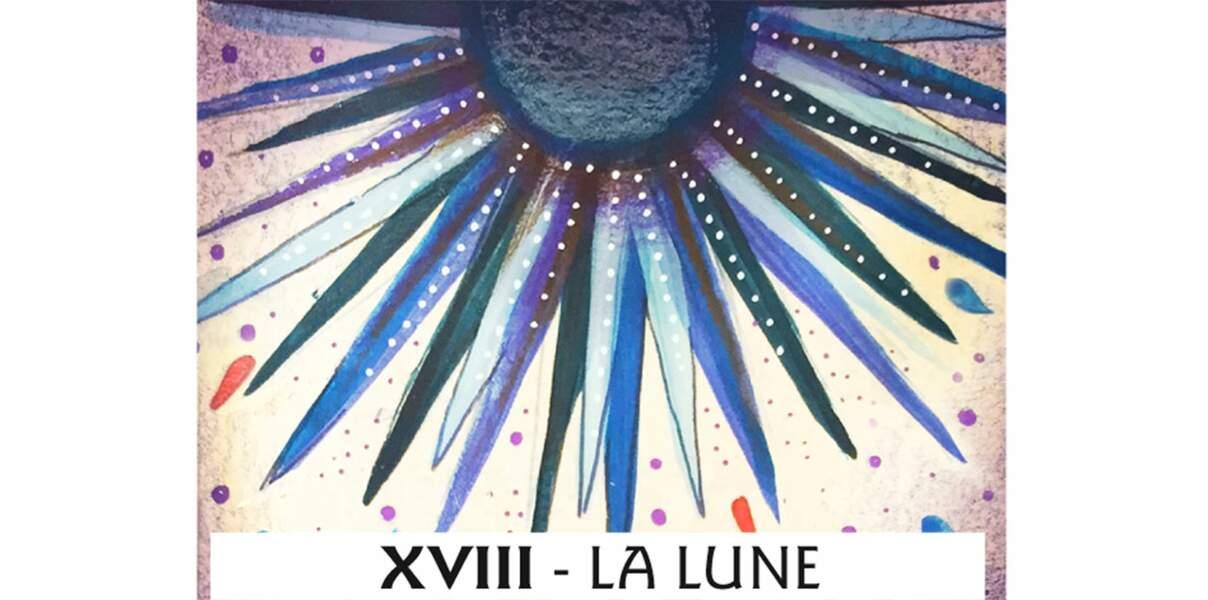 Tarot de Marseille : la Lune