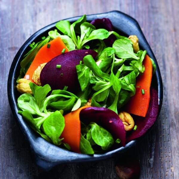 Salade tiède d'automne