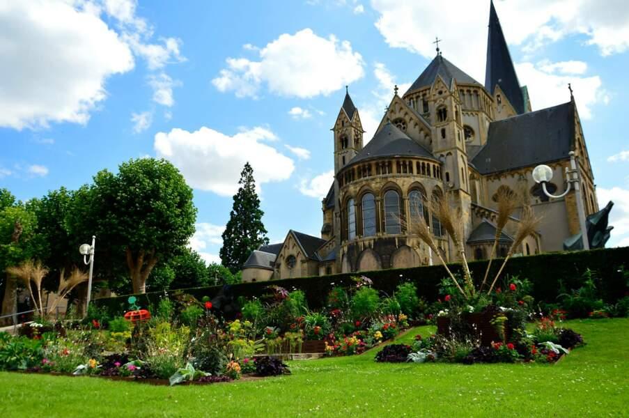 """Une """"Fleur d'Or"""" pour Montigny-les-Metz (Moselle) également"""
