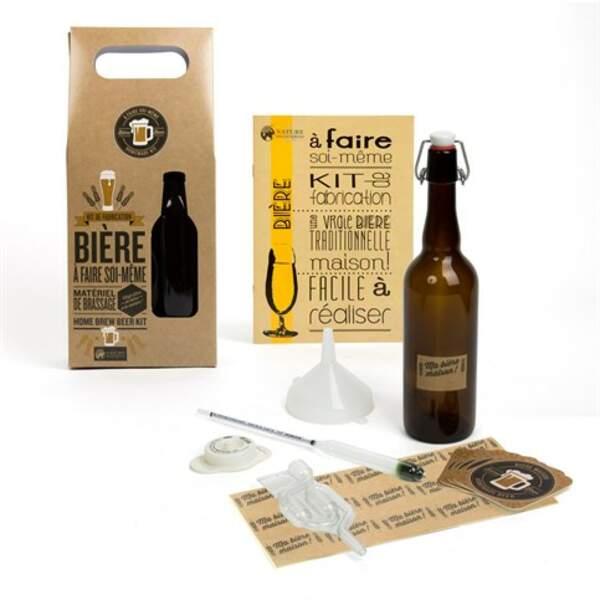 Kit pour faire de la bière maison