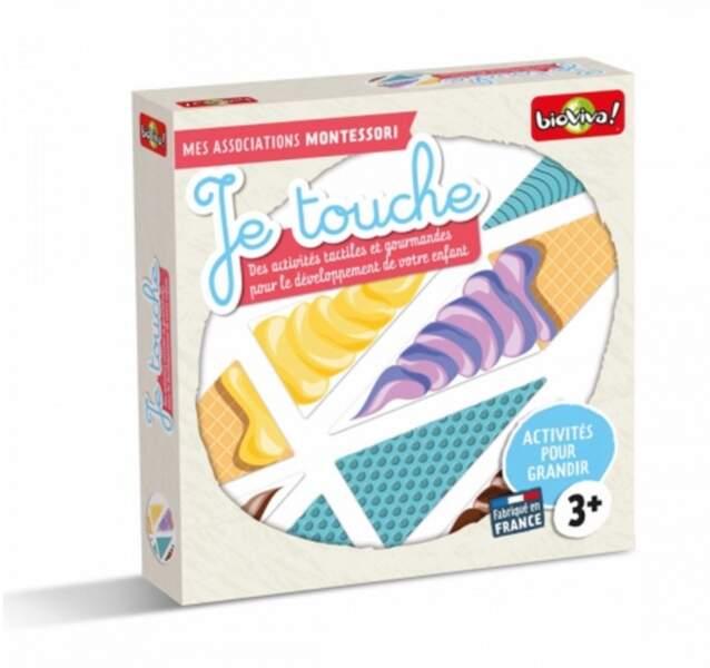 """Montessori : le coffret """"Mes associations Montessori - Je touche"""" - Bioviva"""