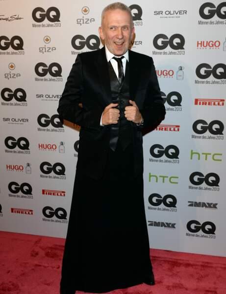 Jean-Paul Gaultier : la jupe il la prend au sérieux...