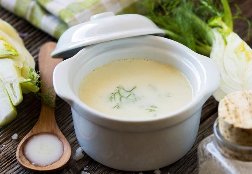 Soupe de fenouil à l'eau de graines