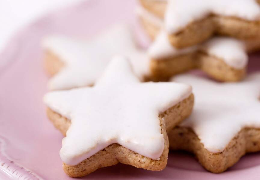 Biscuits étoiles de Noël
