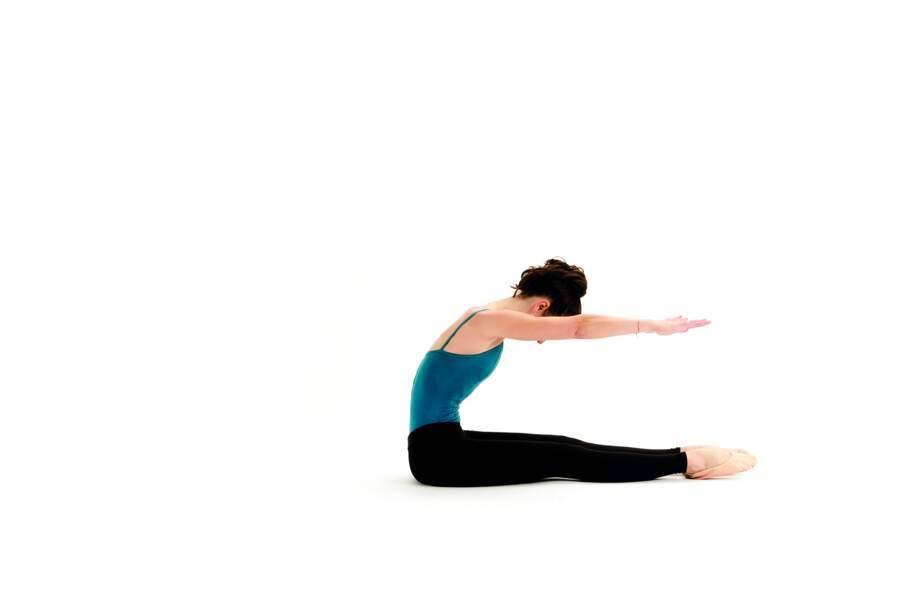 Séance de Pilates express avant d'aller se coucher : Roll up (suite)