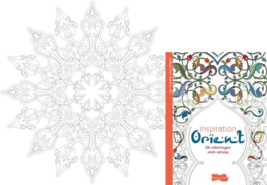 "Coloriage ""Inspiration Orient"""