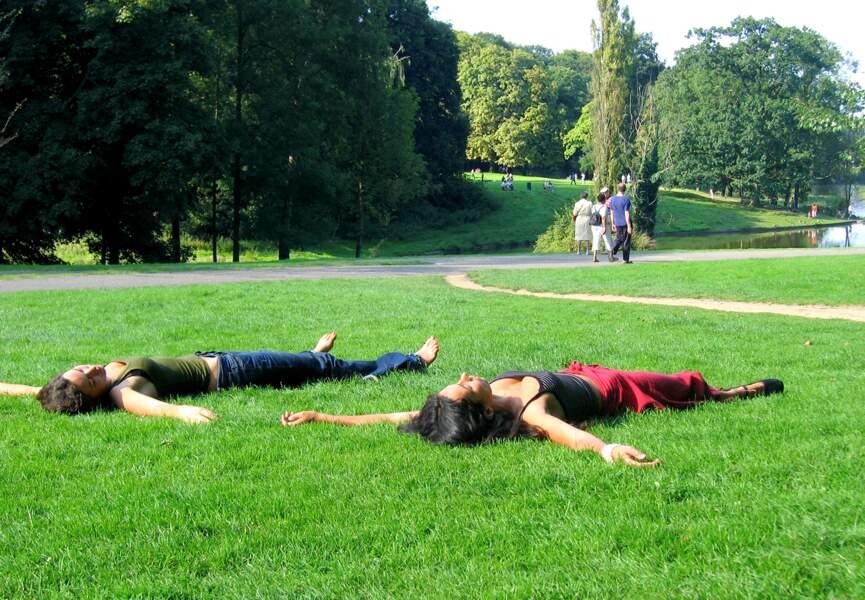 Prenez du bon temps dans les parcs de Bruxelles