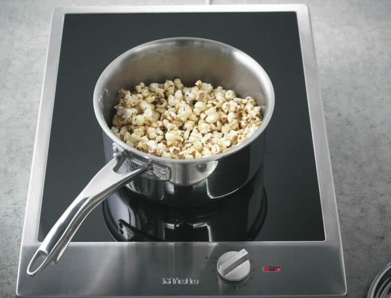 Etape 7 : le pop-corn caramélisé
