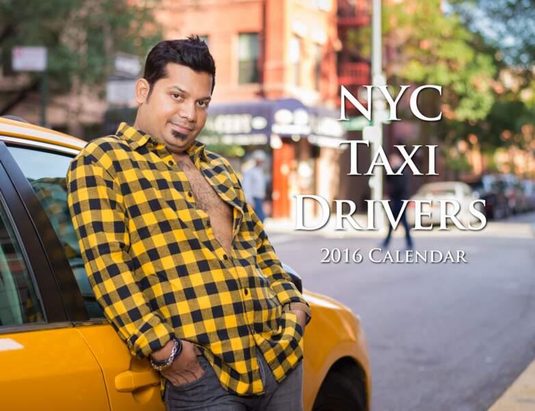 Le calendrier 2016 des taxis new-yorkais
