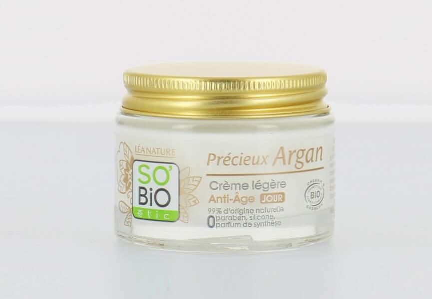 Le meilleur soin anti-âge côté green : Crème Légère Anti-âge Jour So Bio Etic