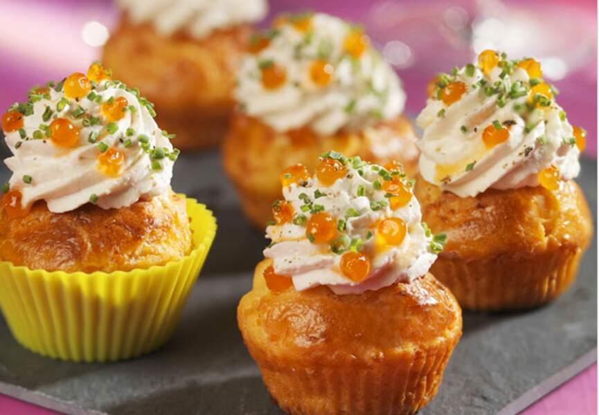 Cupcake au saumon