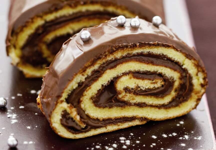Une bûche au Nutella