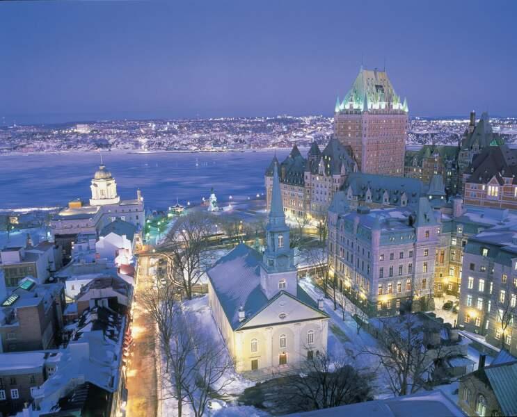 Québec en vue aérienne