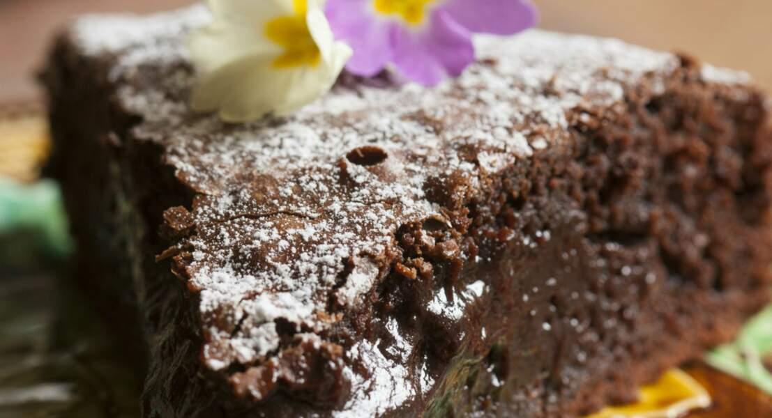 Gâteau au chocolat top fondant