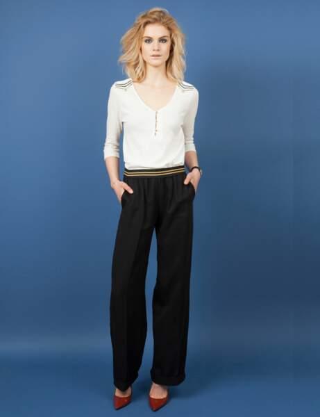 Pantalon de tailleur : chic