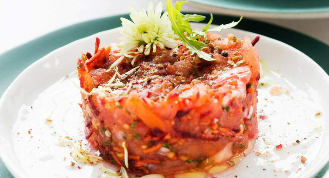 Tartare aux 4 tomates