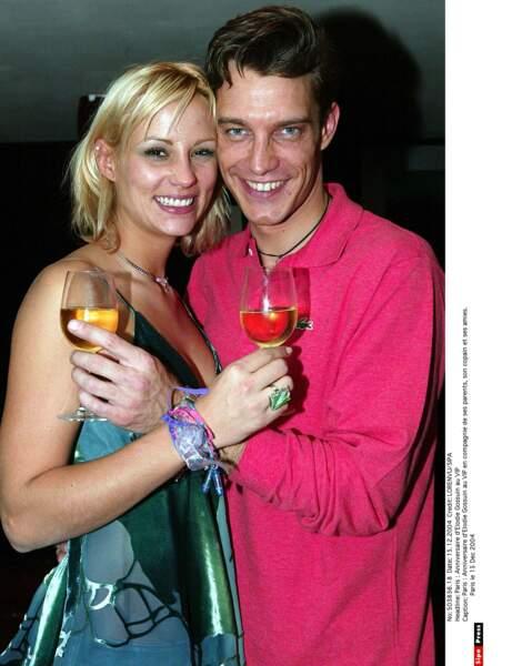 Elodie Gossuin et Bertrand Lacherie...