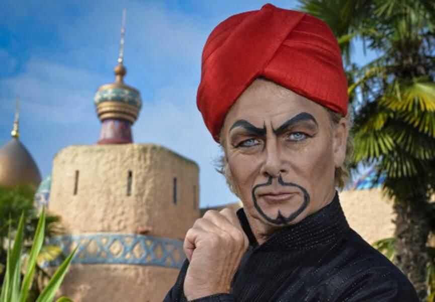 Le look Jafar de Franck Dubosc