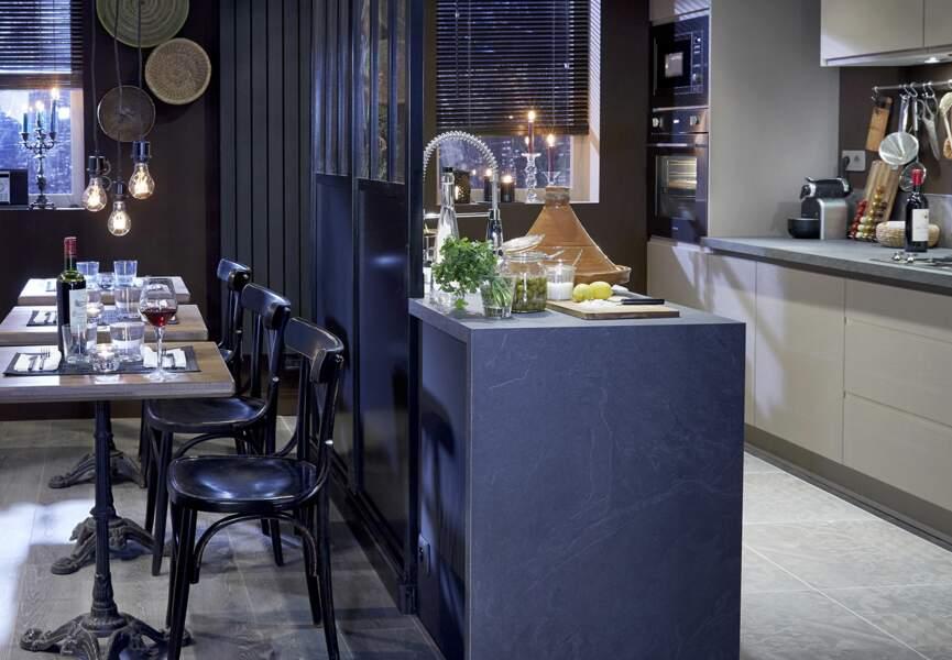Cuisine Leroy Merlin : le modèle bistro (côté salle)