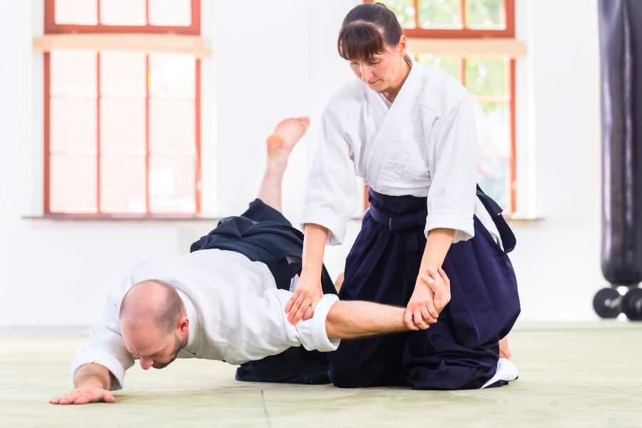 L'aïkido : pour garder son sang froid