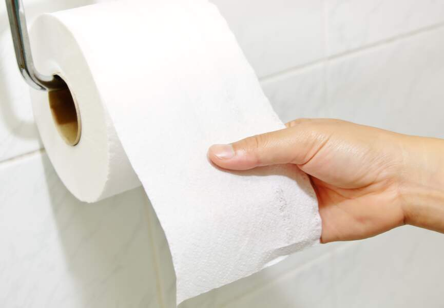 En 1935 premier papier toilette sans...