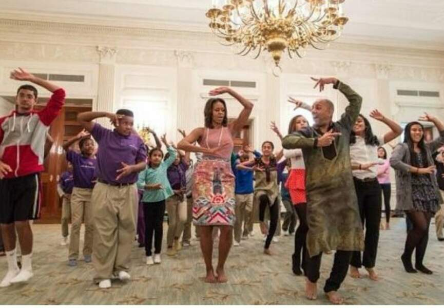 La première dame des Etats-Unis : Michelle Obama