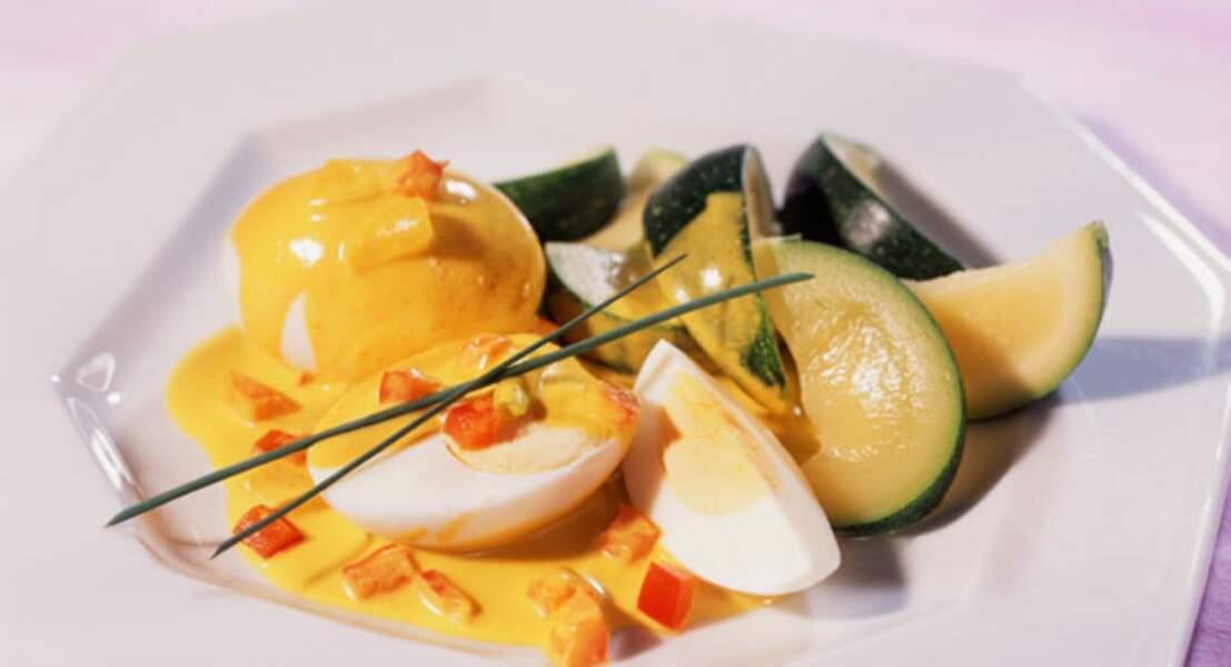 Curry d'œufs durs