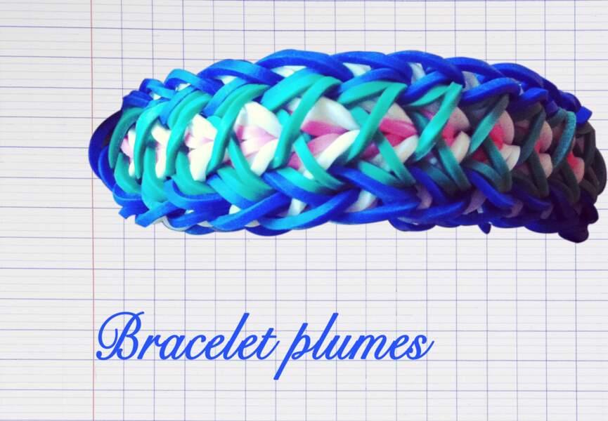 Le bracelet Plumes
