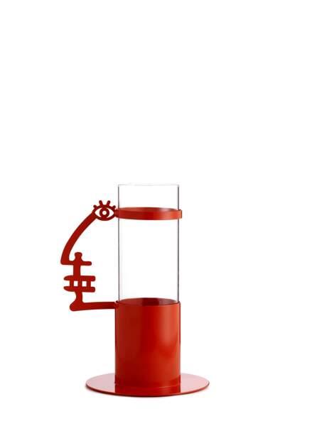 Vase rouge Pop Corn Design