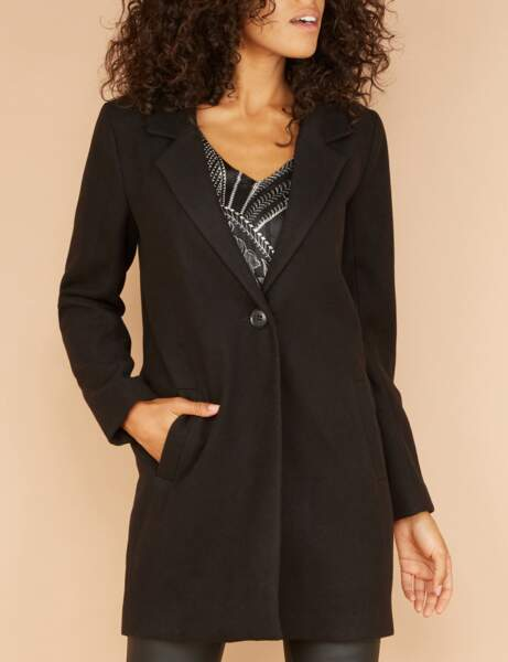 Manteau tendance: intemporel