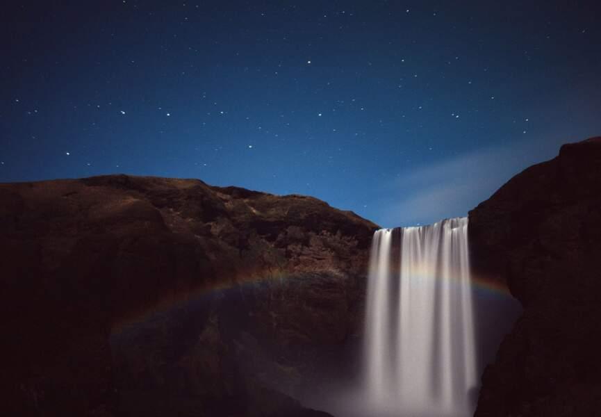 Arc en ciel nocturne