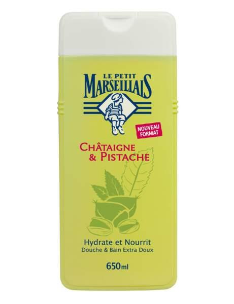 Cocooning : le gel douche Le petit Marseillais