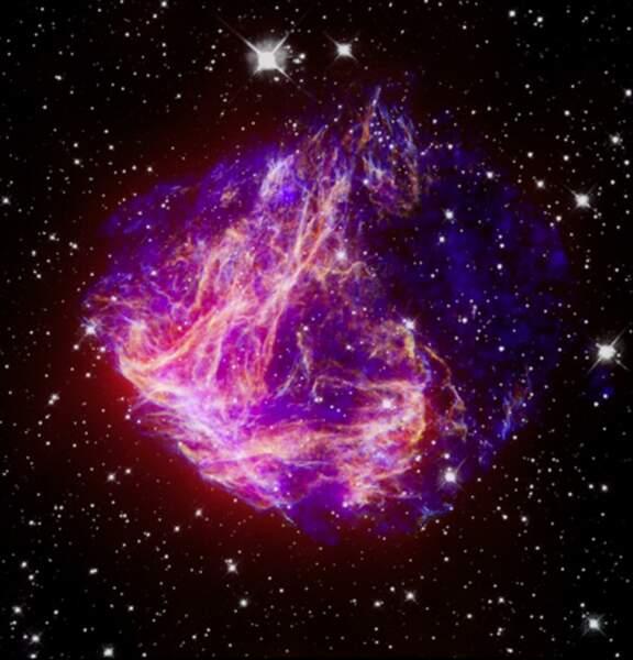 Débris stellaires observés dans le grand nuage de Magellan (2006)