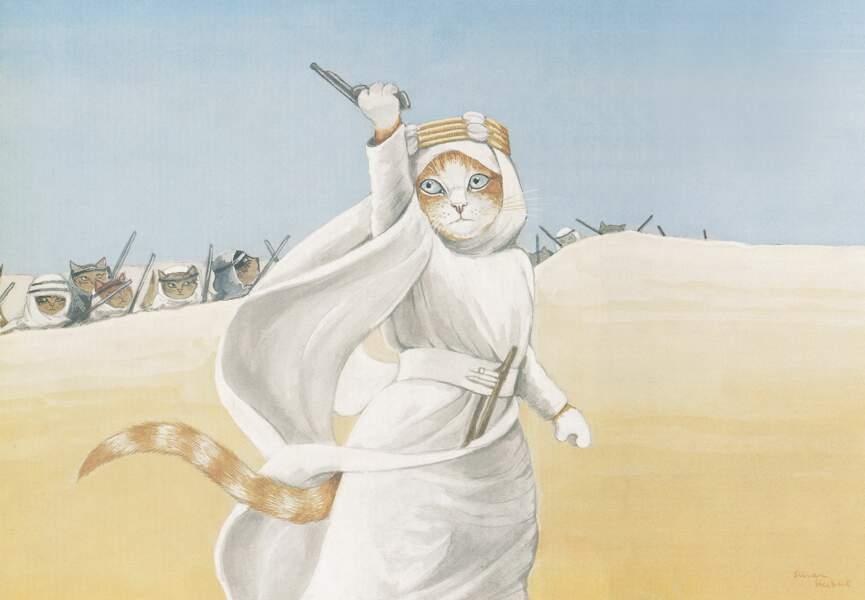 Dans quel film ce chat s'est-il invité ?
