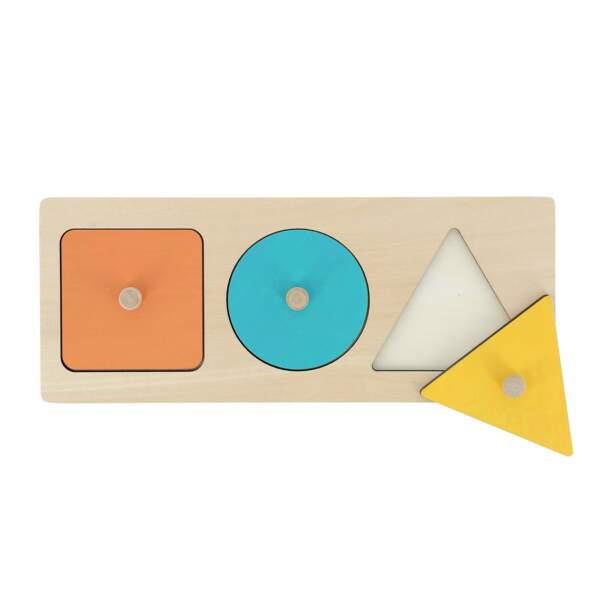 Montessori : le puzzle d'encastrement - Nature et Découvertes