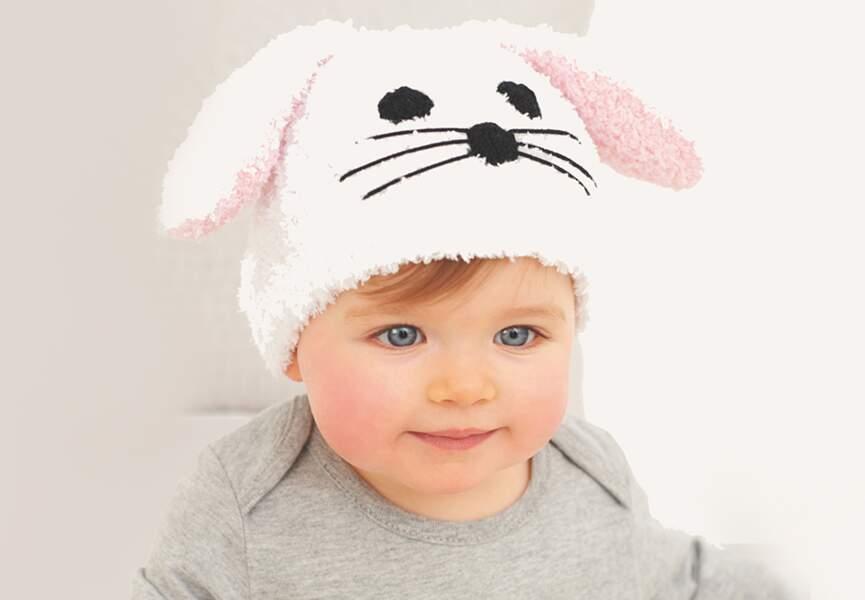 Un petit lapin tout doux