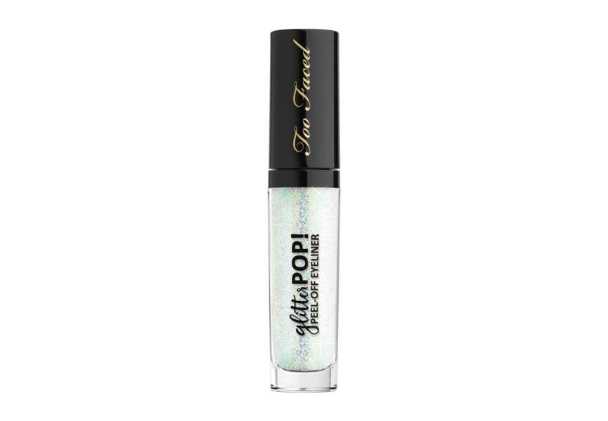 Le Glitter Pop ! Peel Off Eyeliner Glitter Ghost Too Faced