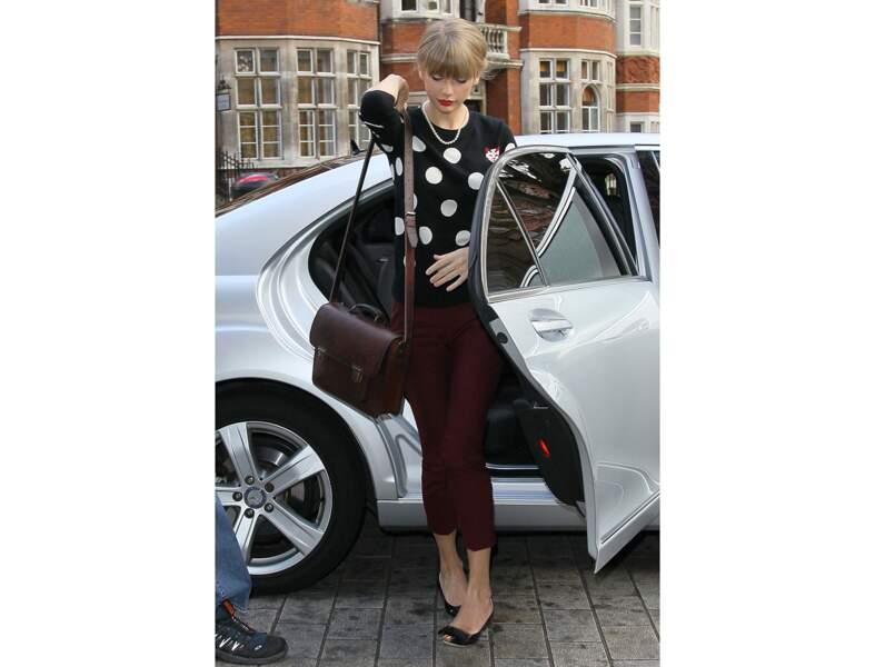 Taylor Swift : le sac cartable